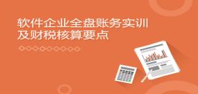软件企业全盘账务实训及财税核算要点