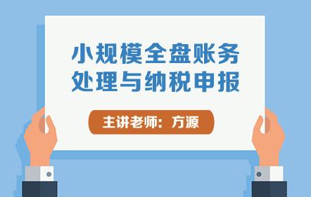 小规模全盘账务处理与纳税申报
