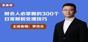 财会人必掌握的300个日常财税处理技巧