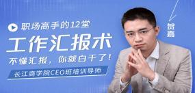 长江商学院CEO培训导师:职场高手的12堂工作汇报术